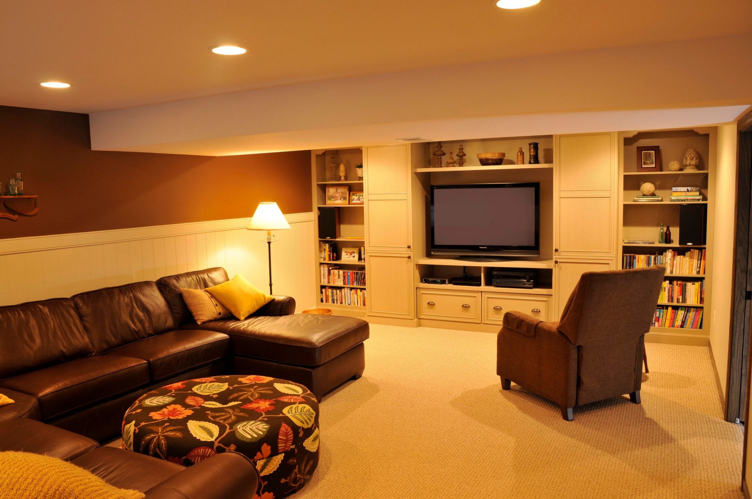 basement finishing luxury living room richmond hill