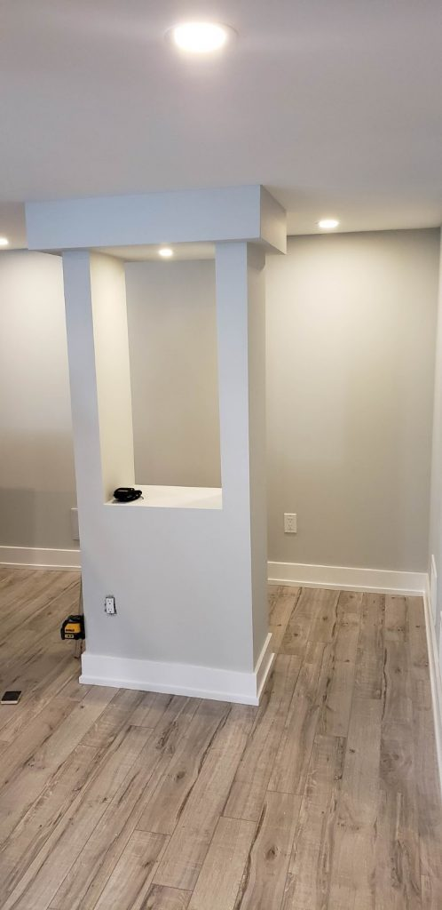 custom basement remodeling - basement renovation stouffville