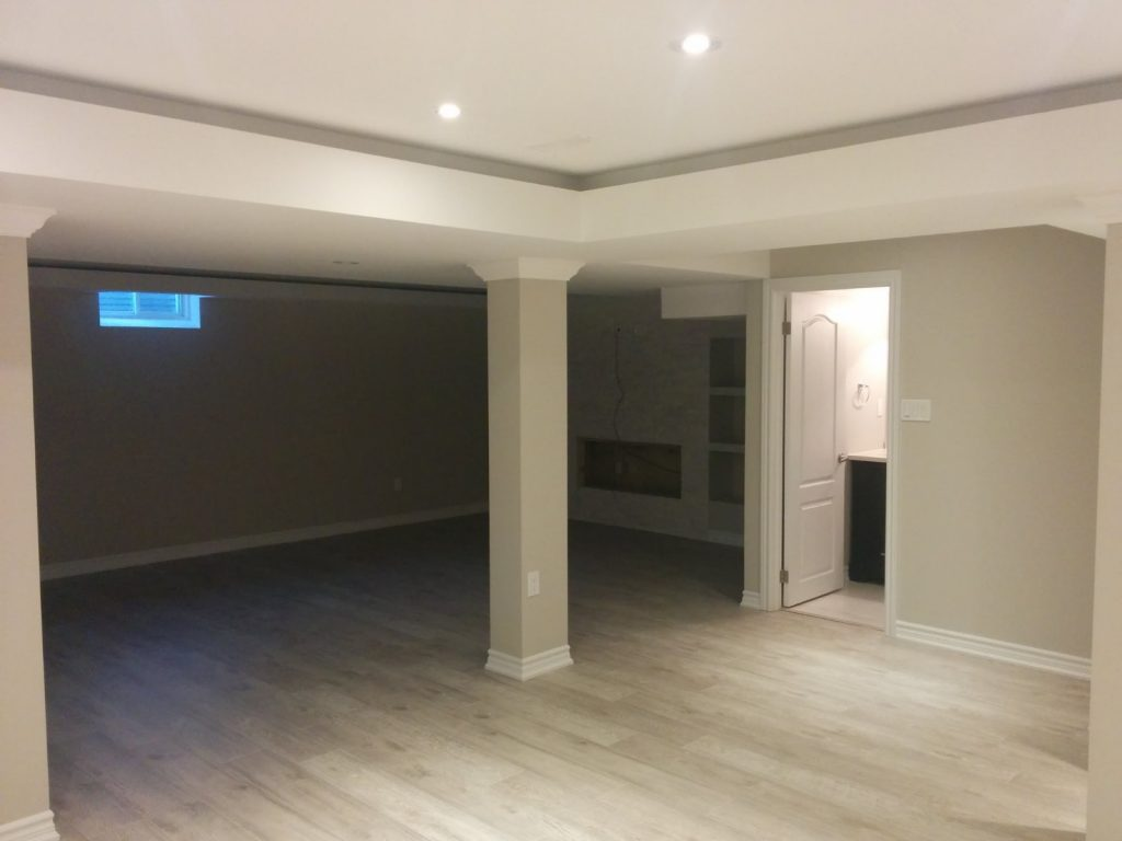 luxury basement renovation - basement finishing markham