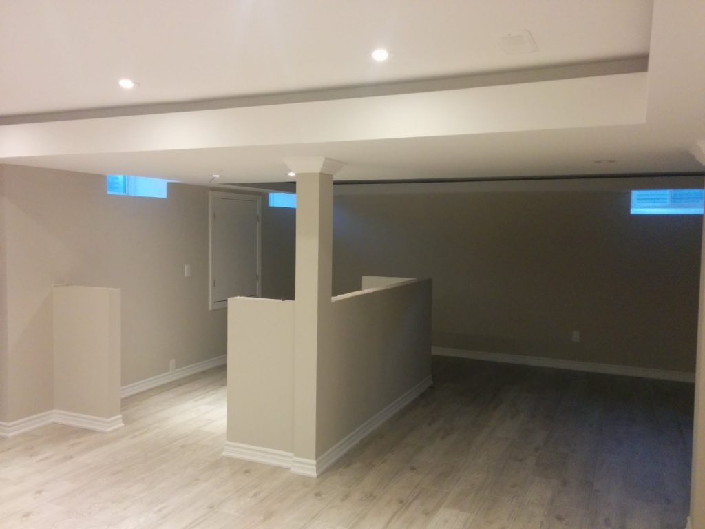 custom basement remodeling - basement finishing richmond hill