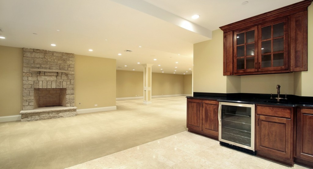 luxury basement remodeling