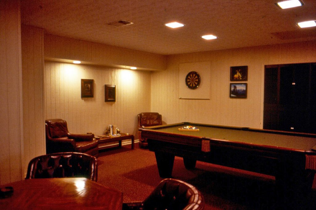basement game room - basement renovations toronto
